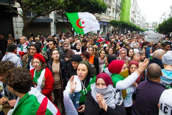 Counter-revolutions in the Middle East - Algeria