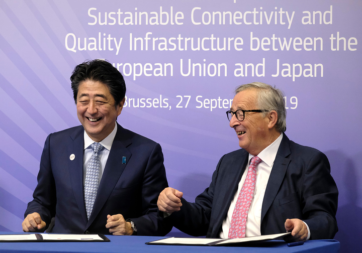 An Unexpected Ally—Japan's Up-and-Coming New Partnership with the EU