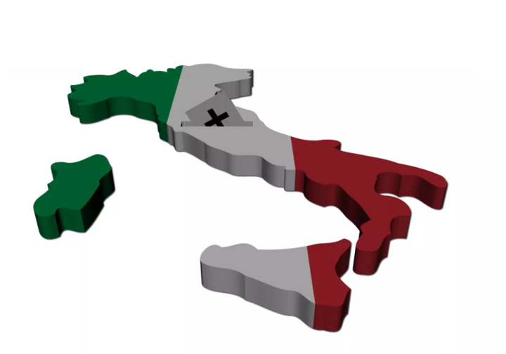 Italian political maps - The deep-rooted link between politics and territory in Italy